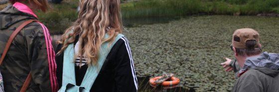 pond school visit
