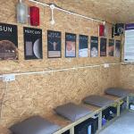 Warm Room installation after