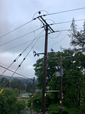 Noisy pylon